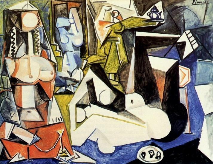 Пабло Пикассо. Алжирские женщины, версия N