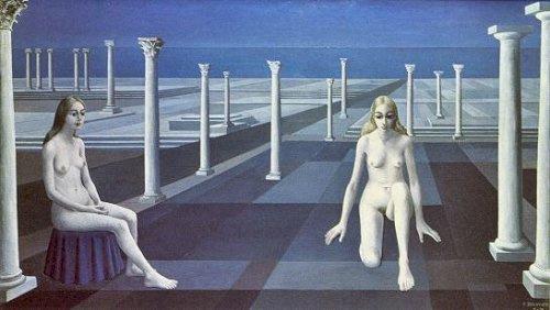 Paul Delvo. Blue sky