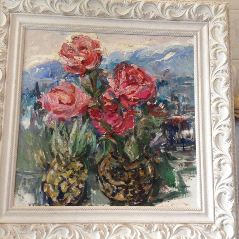 Valentina Petrovna Tsvetkova. Roses