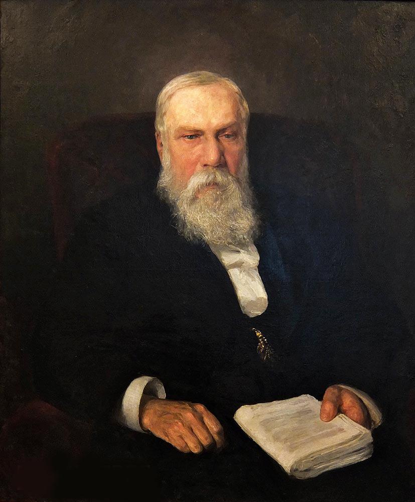 Vasily Dmitrievich Polenov. Portrait of Fedor Vasilyevich Chizhov