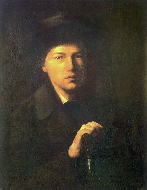 Василий Григорьевич Перов. Портрет Криденера, брата художника