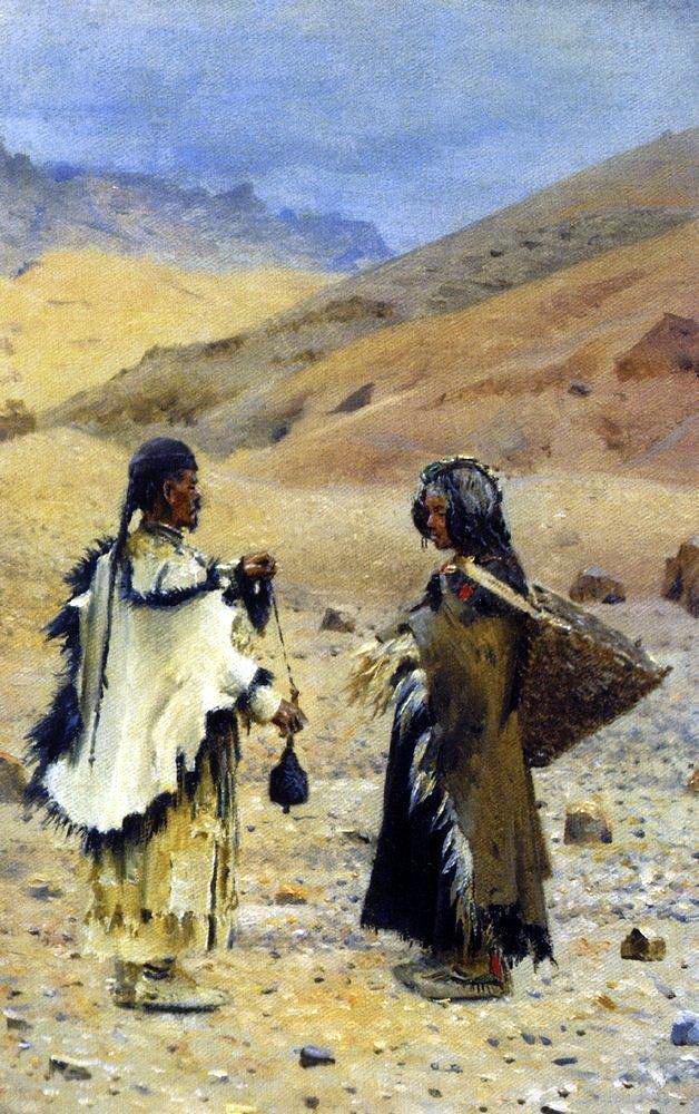 Василий Васильевич Верещагин. Жители Западного Тибета