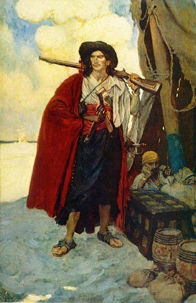 Говард Пайл. Пират
