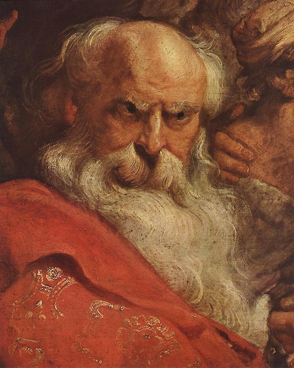 Питер Пауль Рубенс. Поклонение волхвов (фрагмент)
