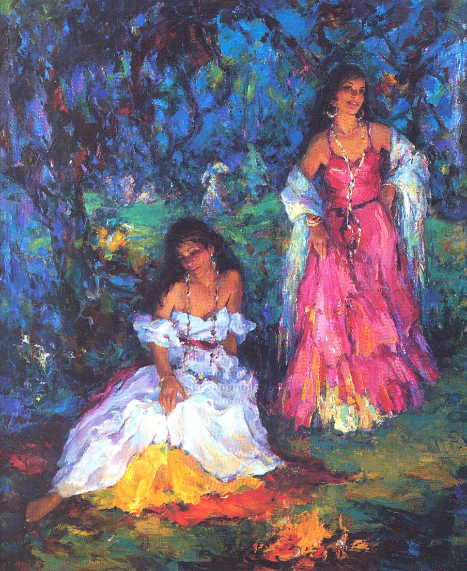 Marilyn Bendell. Gypsy fire