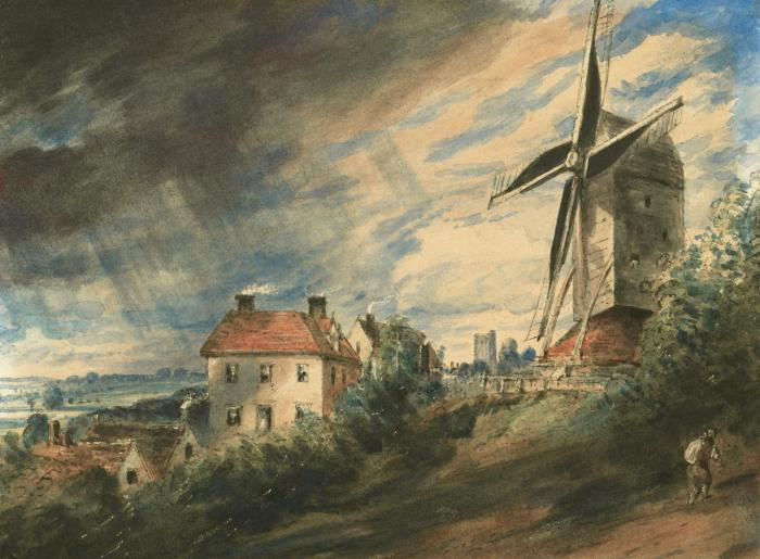 John Constable. Mill, Colchester