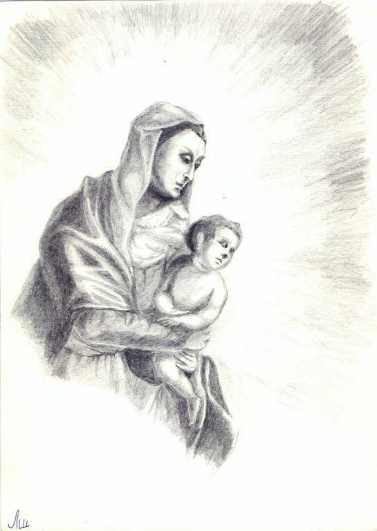 Larissa Alexandrovna Shilova. Madonna and Child
