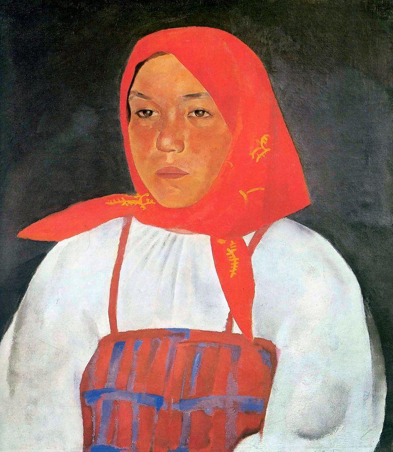 Лев Александрович Бруни. Крестьянка