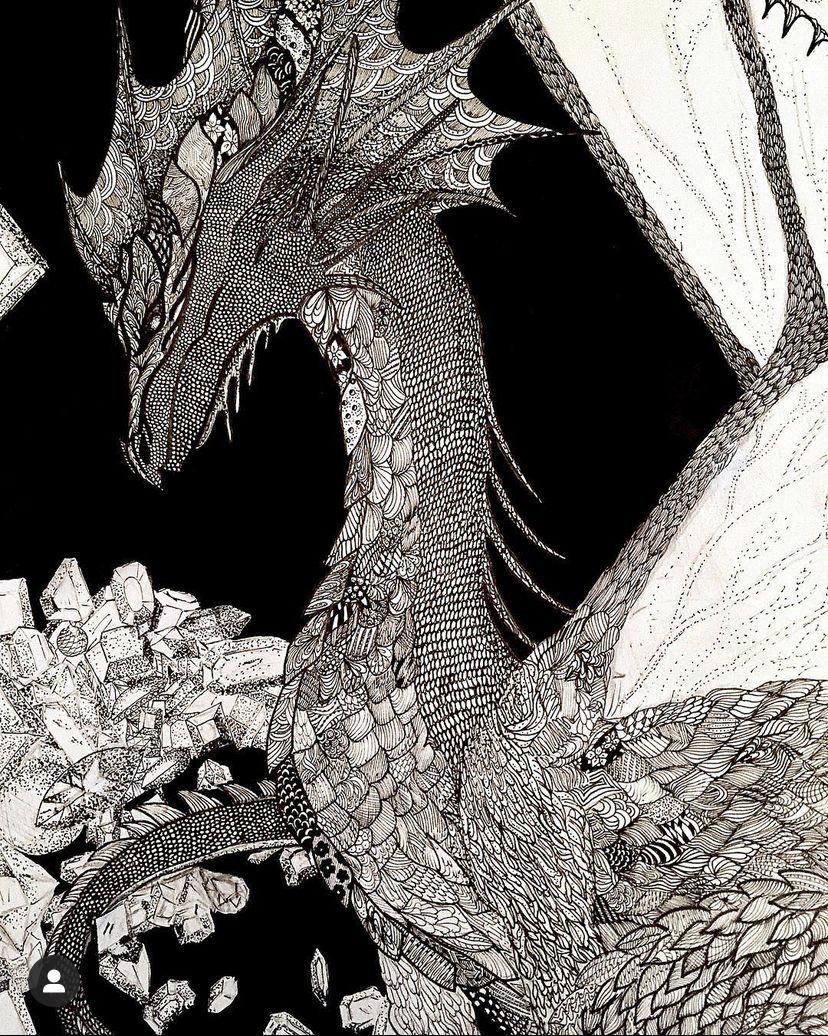 Irina Tabolova. Dragon
