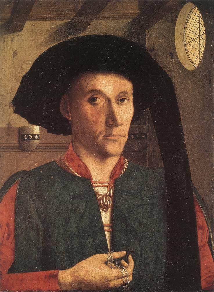 Petrus Christus. Portrait Of Edward Grimston