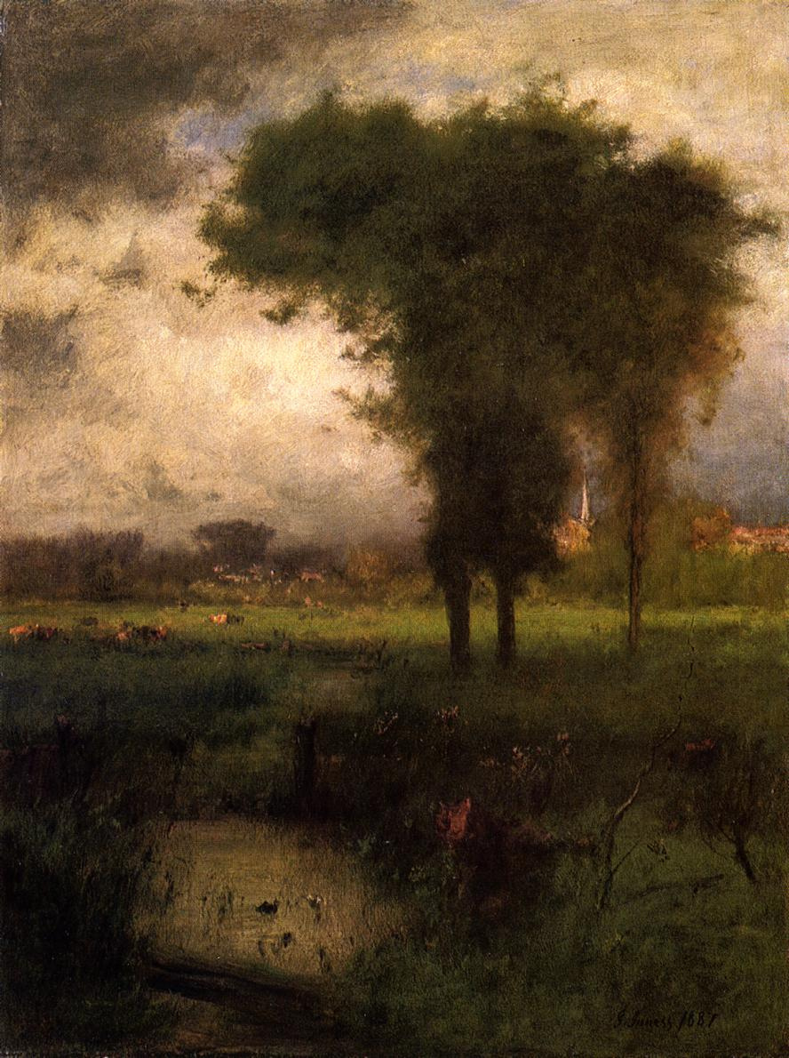 George Innes. Summer Montclair