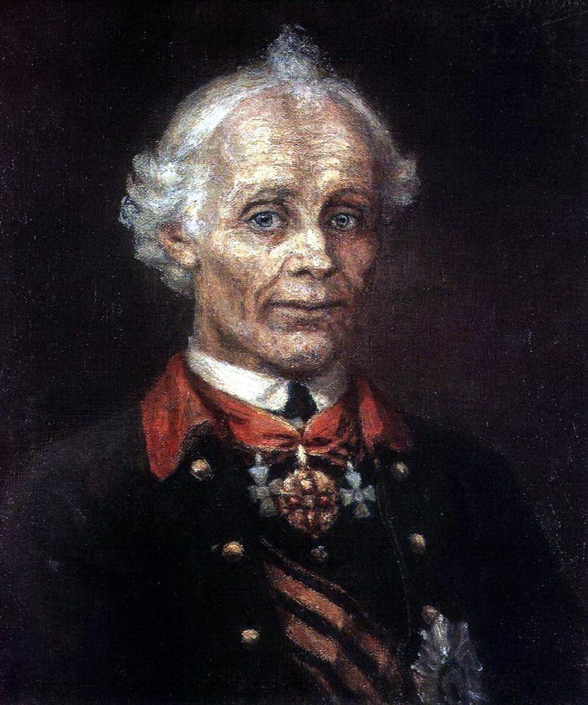 Василий Иванович Суриков. Портрет Суворова