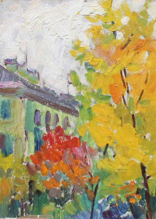 Eugene Mikhailovich Emelyanov. Autumn day