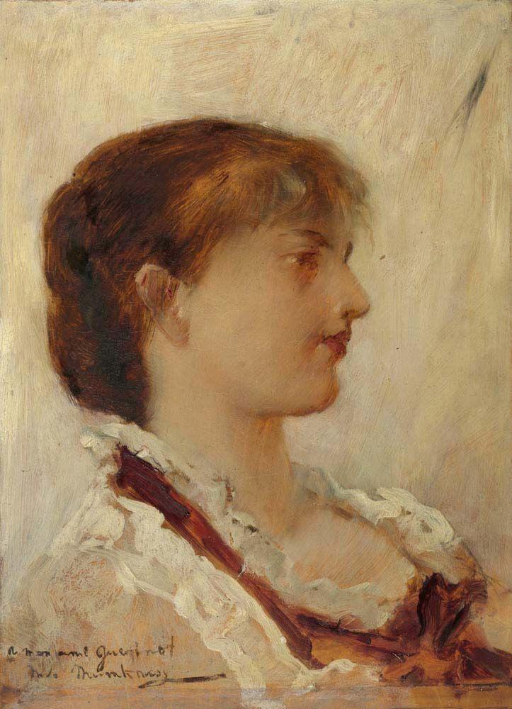 Михай Либ Мункачи. Портрет девушки
