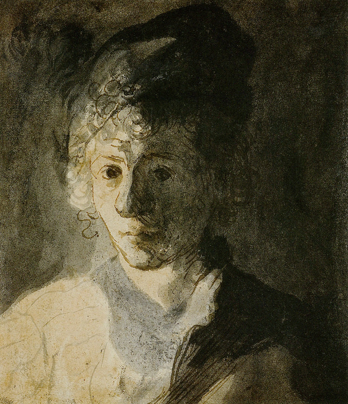 Ян Ливенс. Портрет молодого человека