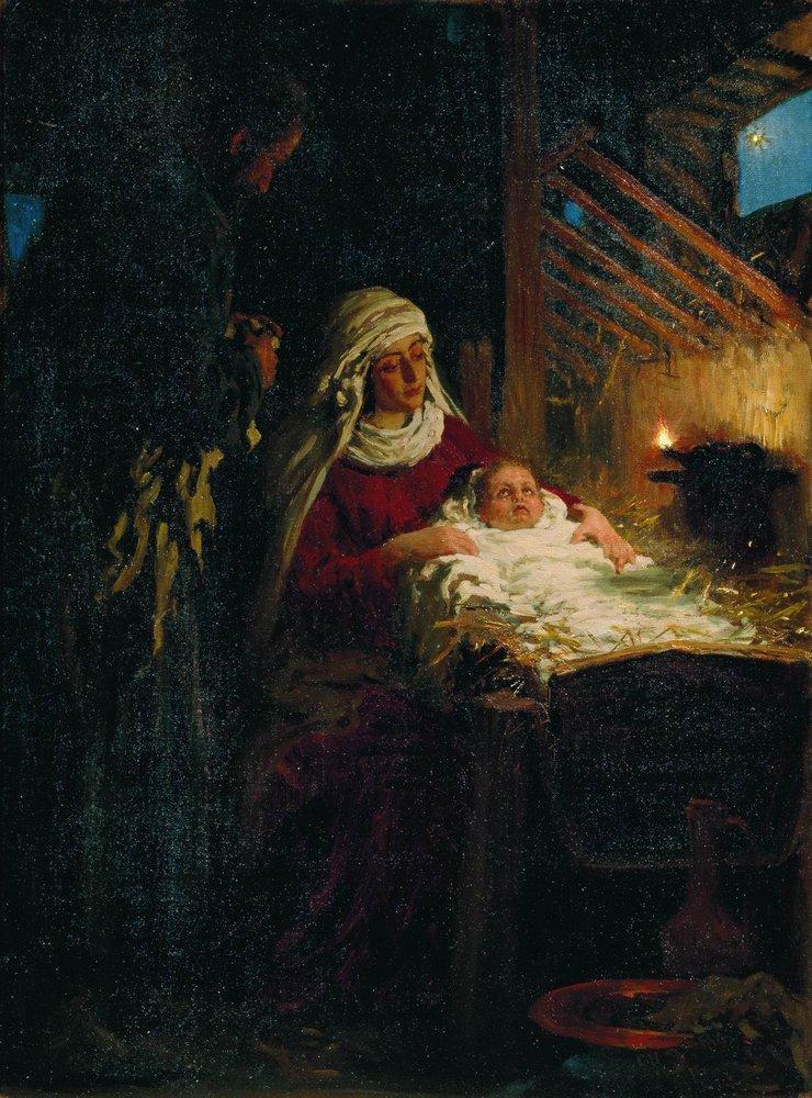 Илья Ефимович Репин. Рождество Христово