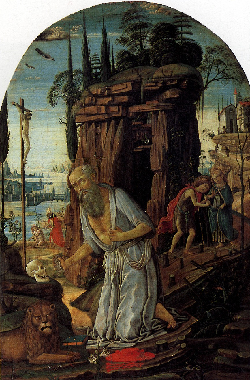 Arcangelo Jacopo Dee. Saint Jerome
