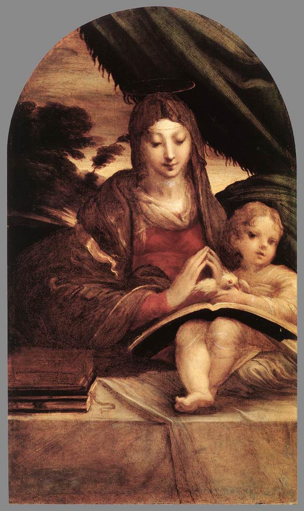 Francesco Parmigianino. The Madonna and child