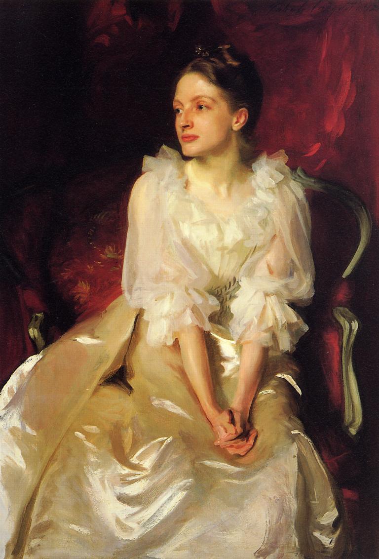 John Singer Sargent. Miss Helen Dunham