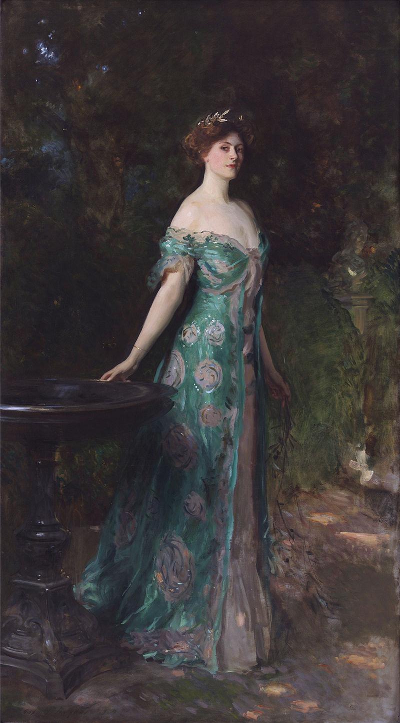 John Singer Sargent. The Duchess Of Sutherland