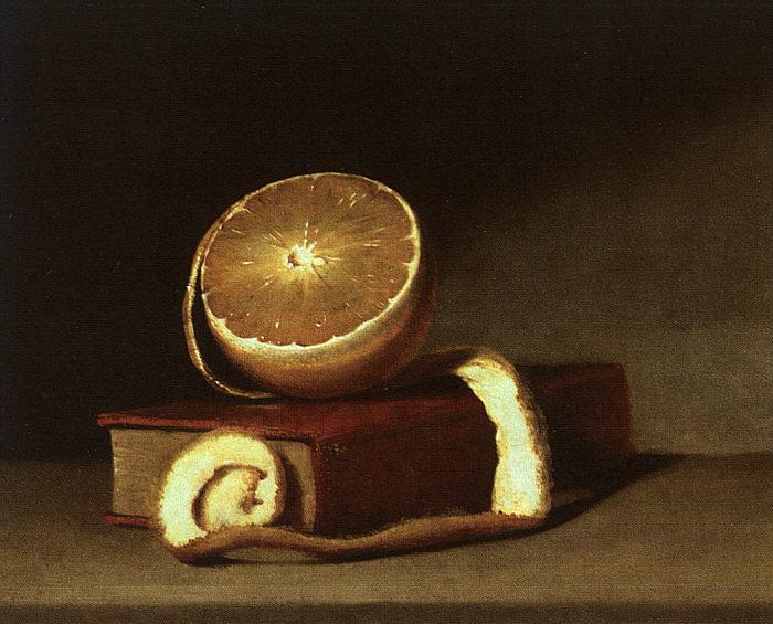Рафаэль Пил. Натюрморт с лимоном