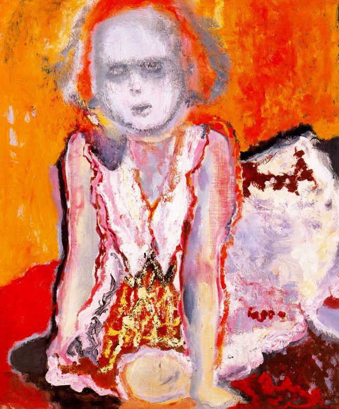 Marlene Dumas. Girl