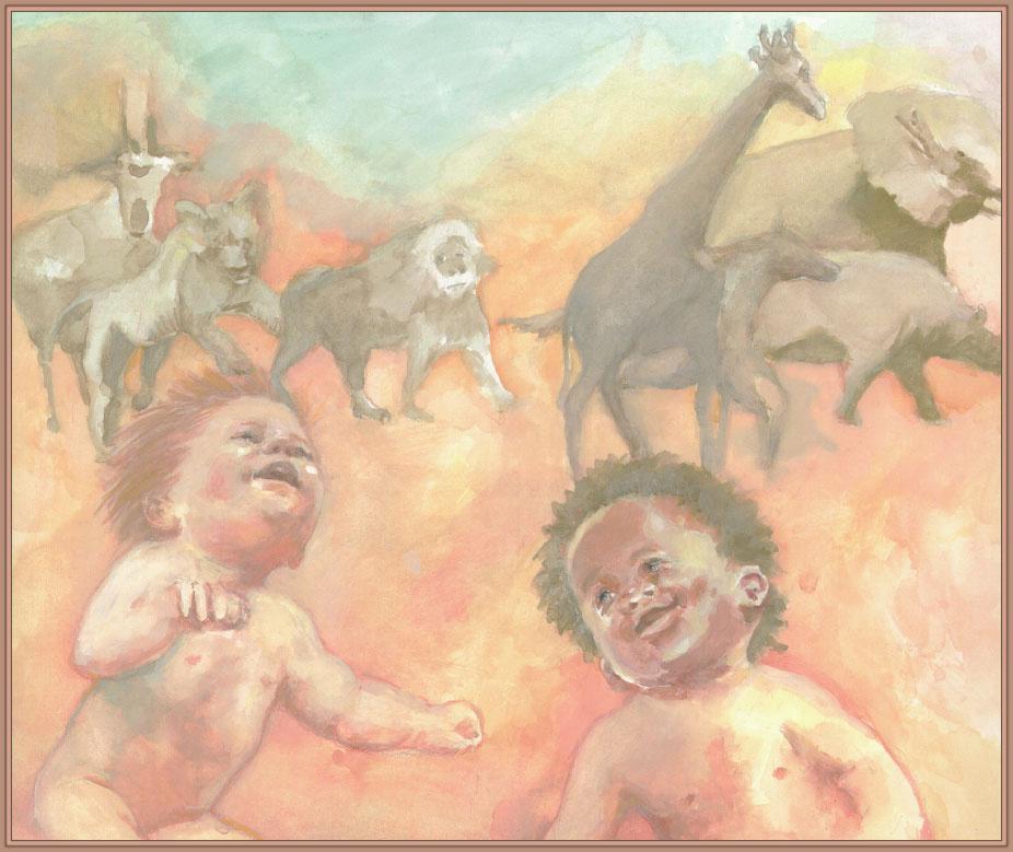 Rachel Isadora. Children and animals