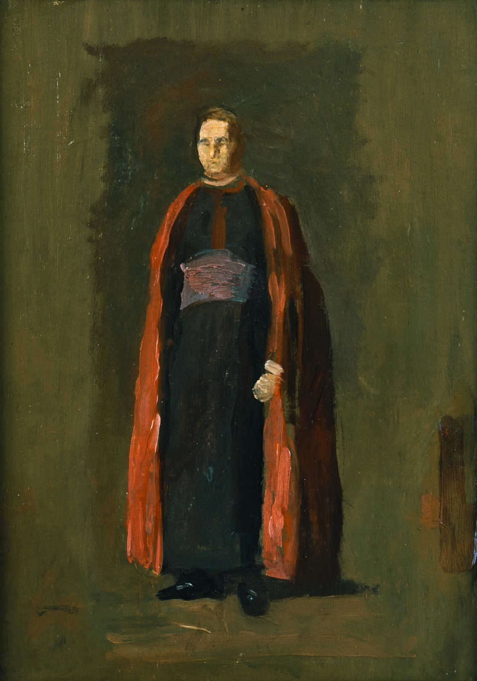 Thomas Eakins. Monsignor James Laughlin. Sketch