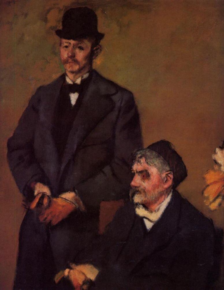 Эдгар Дега. Анри Руар и его сын Алекс