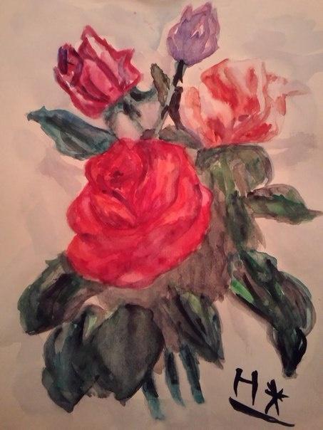 Наталья. Розы