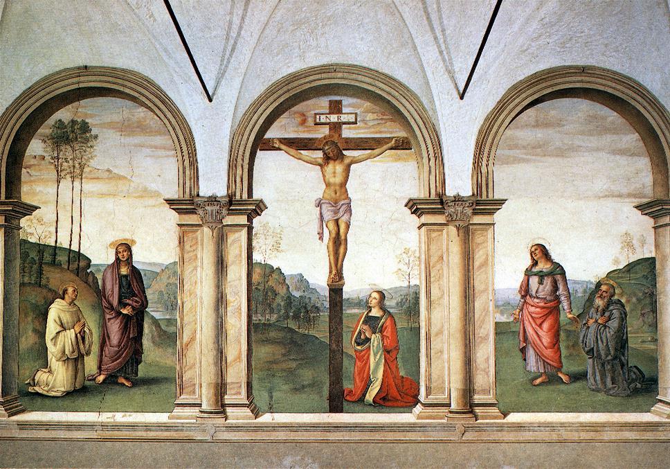 Pietro Perugino. Crucifixion