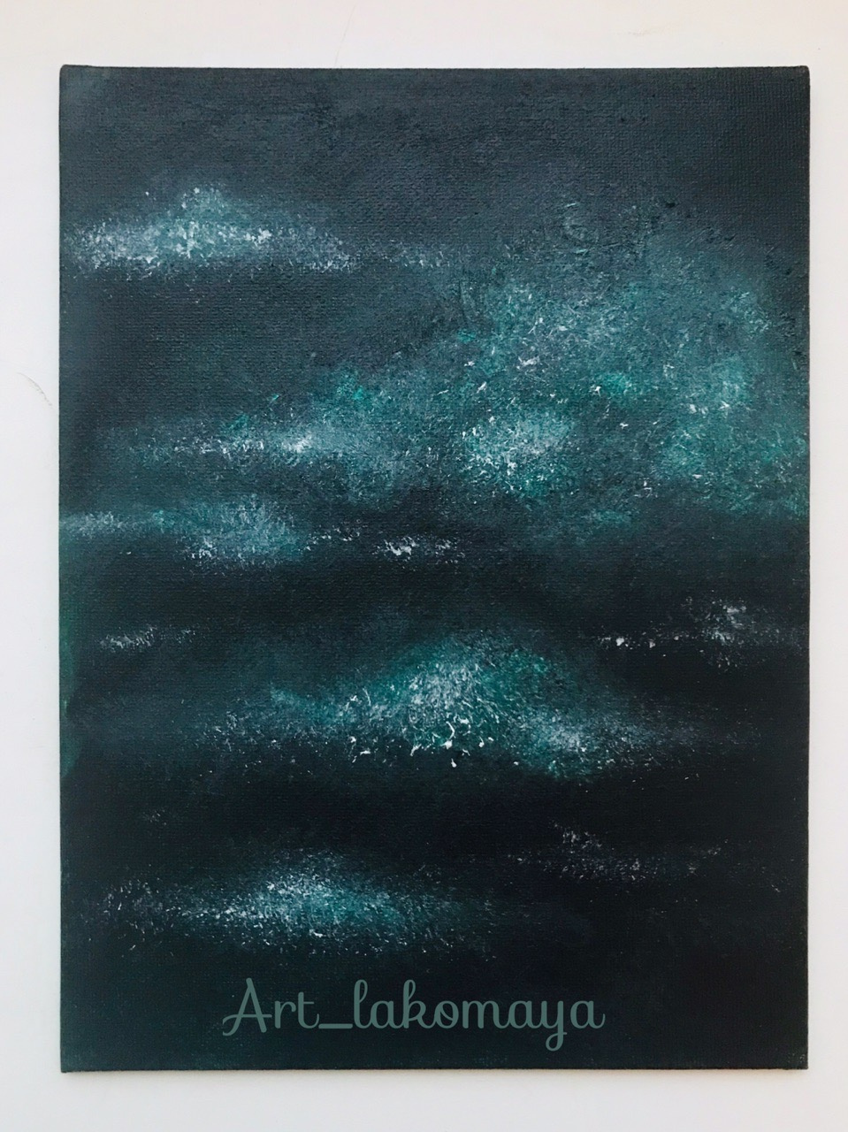 Olga Lakomaya. Night sky