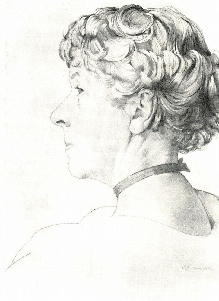 Константин Андреевич Сомов. Портрет Сомовой-Михайловой