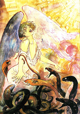 Мило Манара. Ангел и змеи
