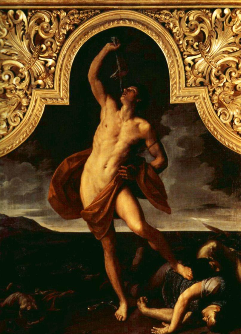 Guido Reni. Samson-the winner