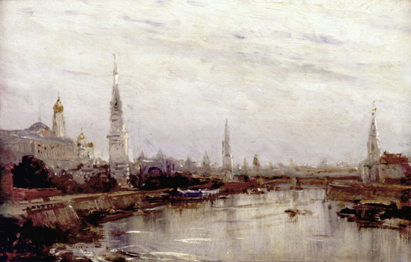 Алексей Петрович Боголюбов. Москва