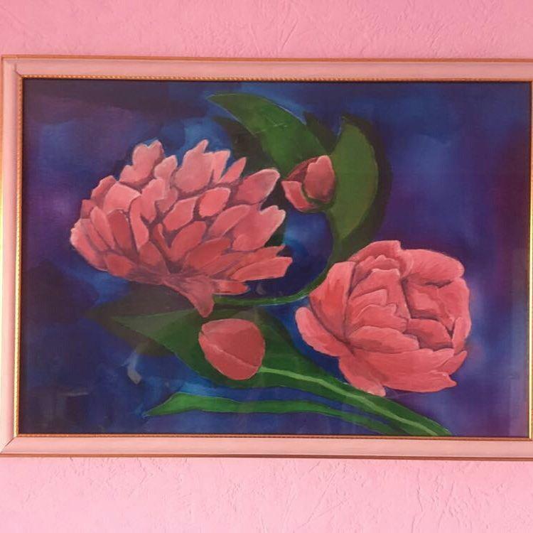 Madina Musaevna Sagaeva. Painting on fabric