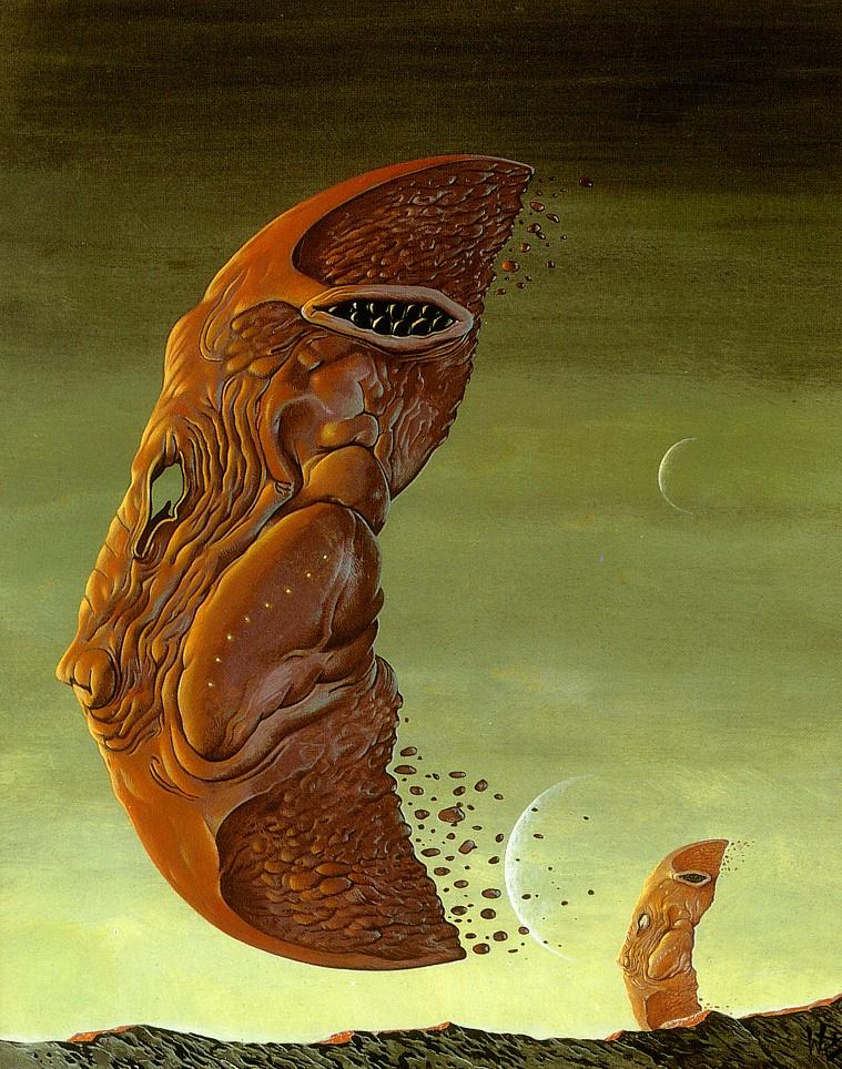 Уэйн Дуглас Барлоу. Морщинистый поплавок