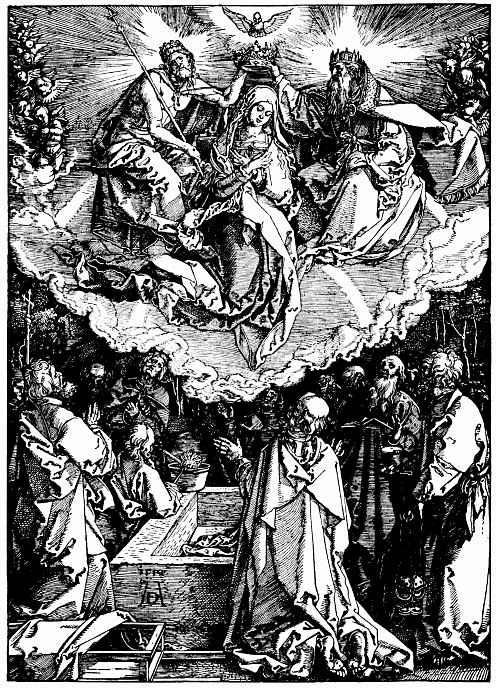 Альбрехт Дюрер. Вознесение Марии
