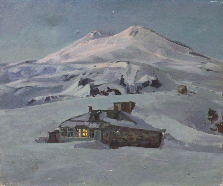 Boris Stepanovich Petrov. Dusk