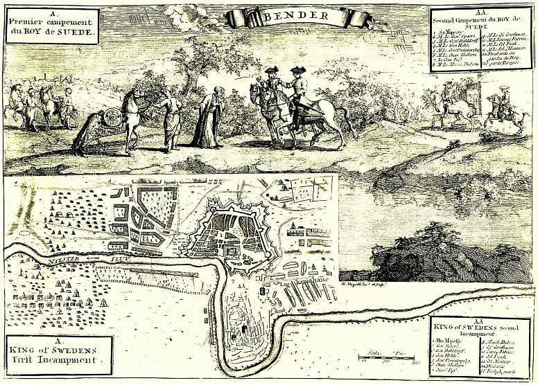 Уильям Хогарт. Карл XII в Бендерах