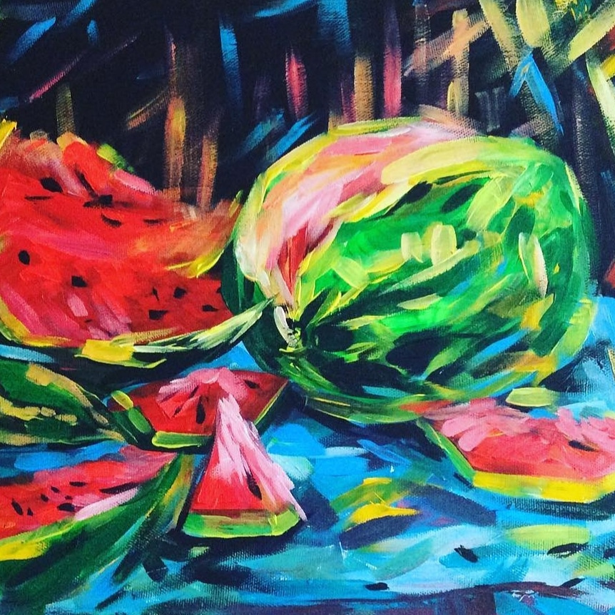 Julia Gennadievna Pinyaeva. Watermelon