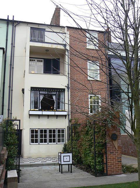 Charles Rennie Mac. Northampton Terrace House