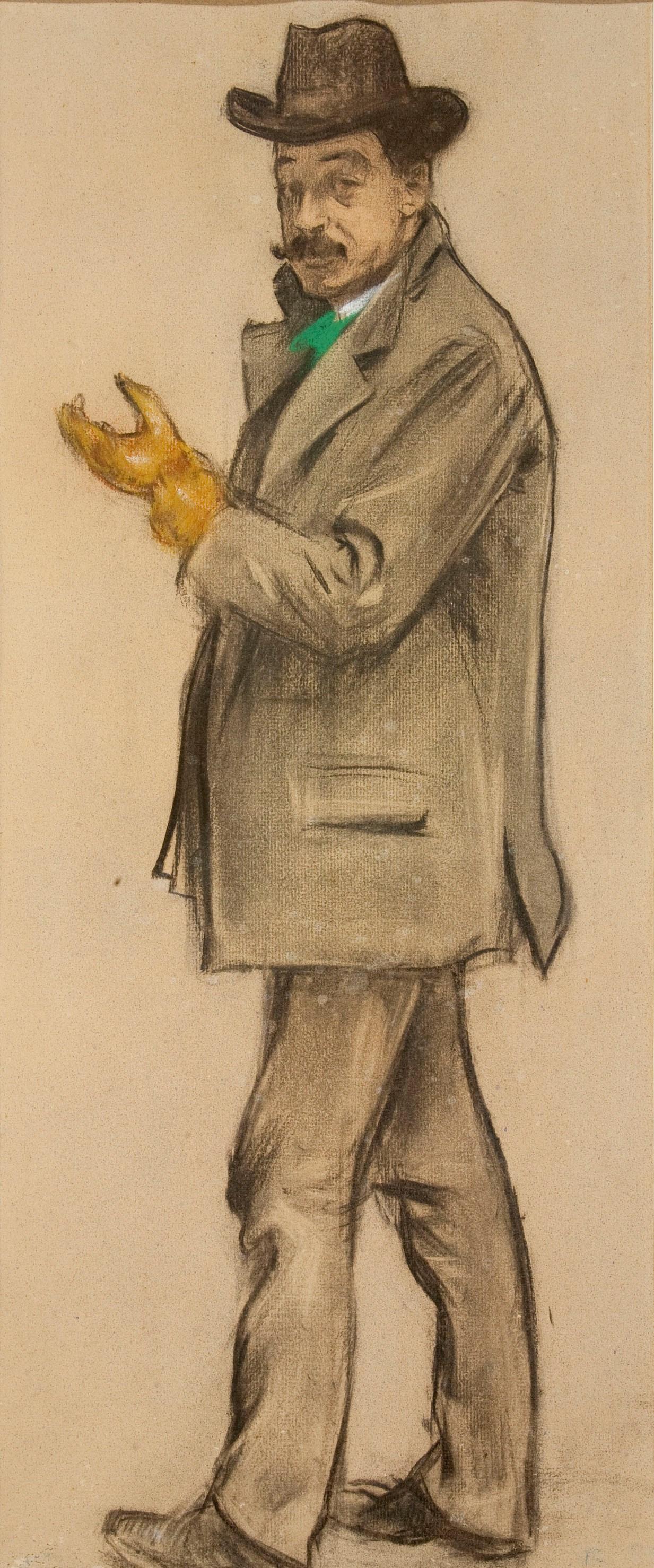 Ramon Casas i Carbó. Portrait of Antoni de Ferrater