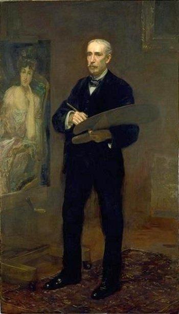 Thomas Eakins. Portrait Of James Carroll Beckwith