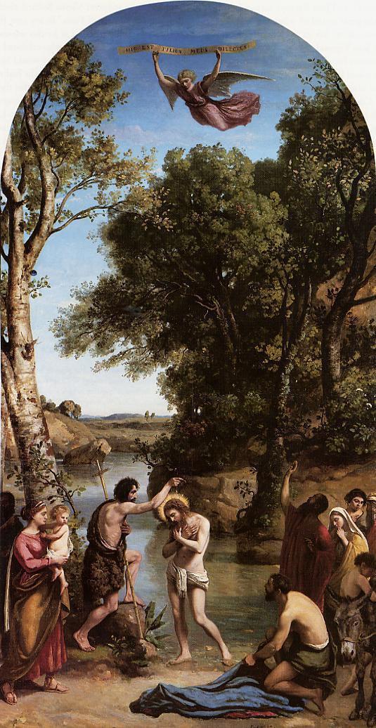 Камиль Коро. Крещение