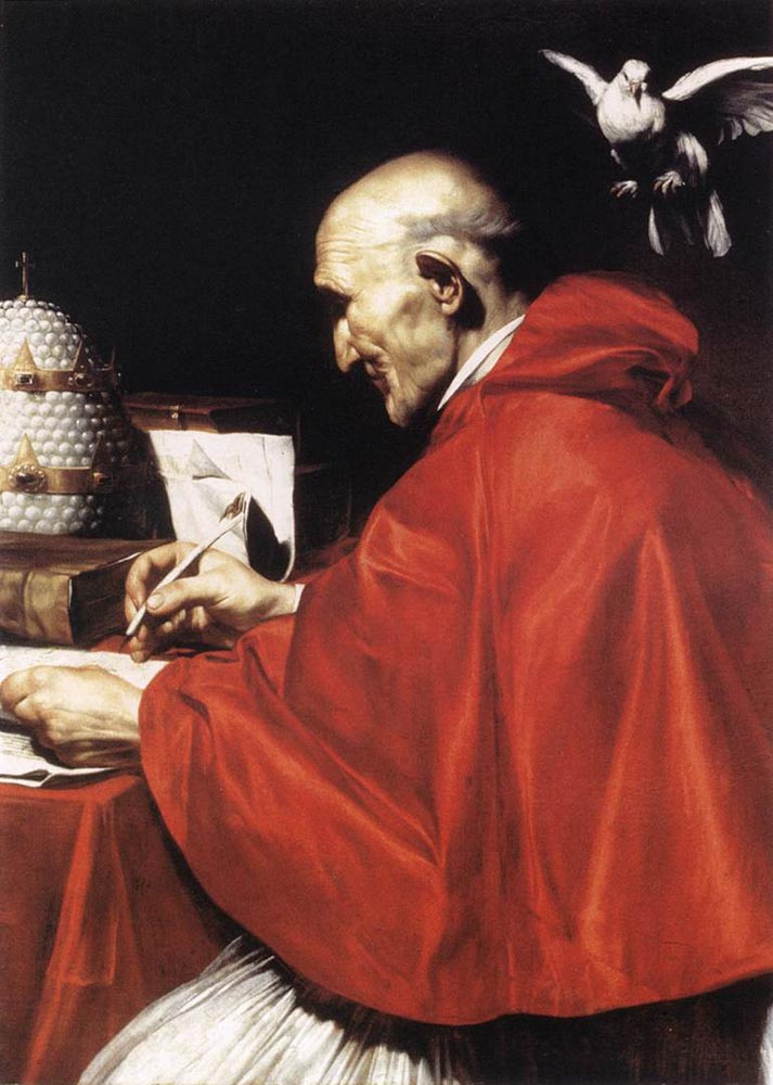 Карло Сарачени. Святитель Григорий Великий