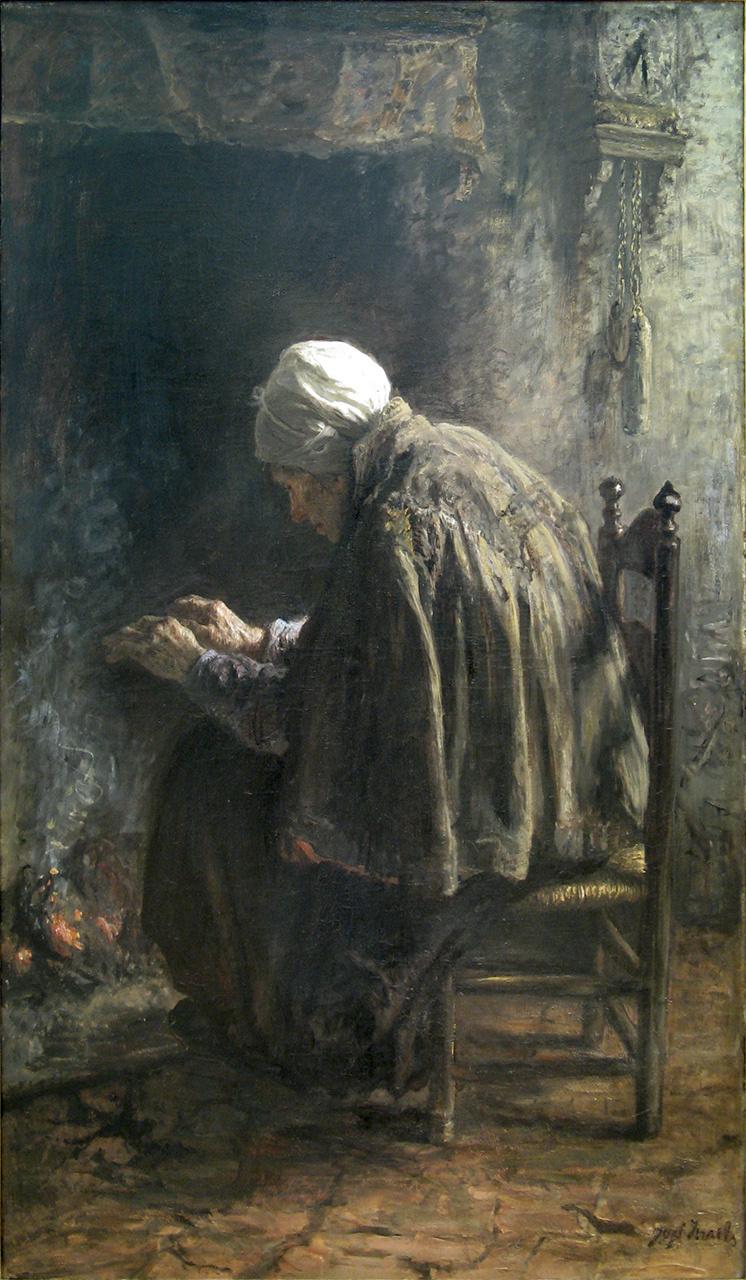 Joseph Israel. When old