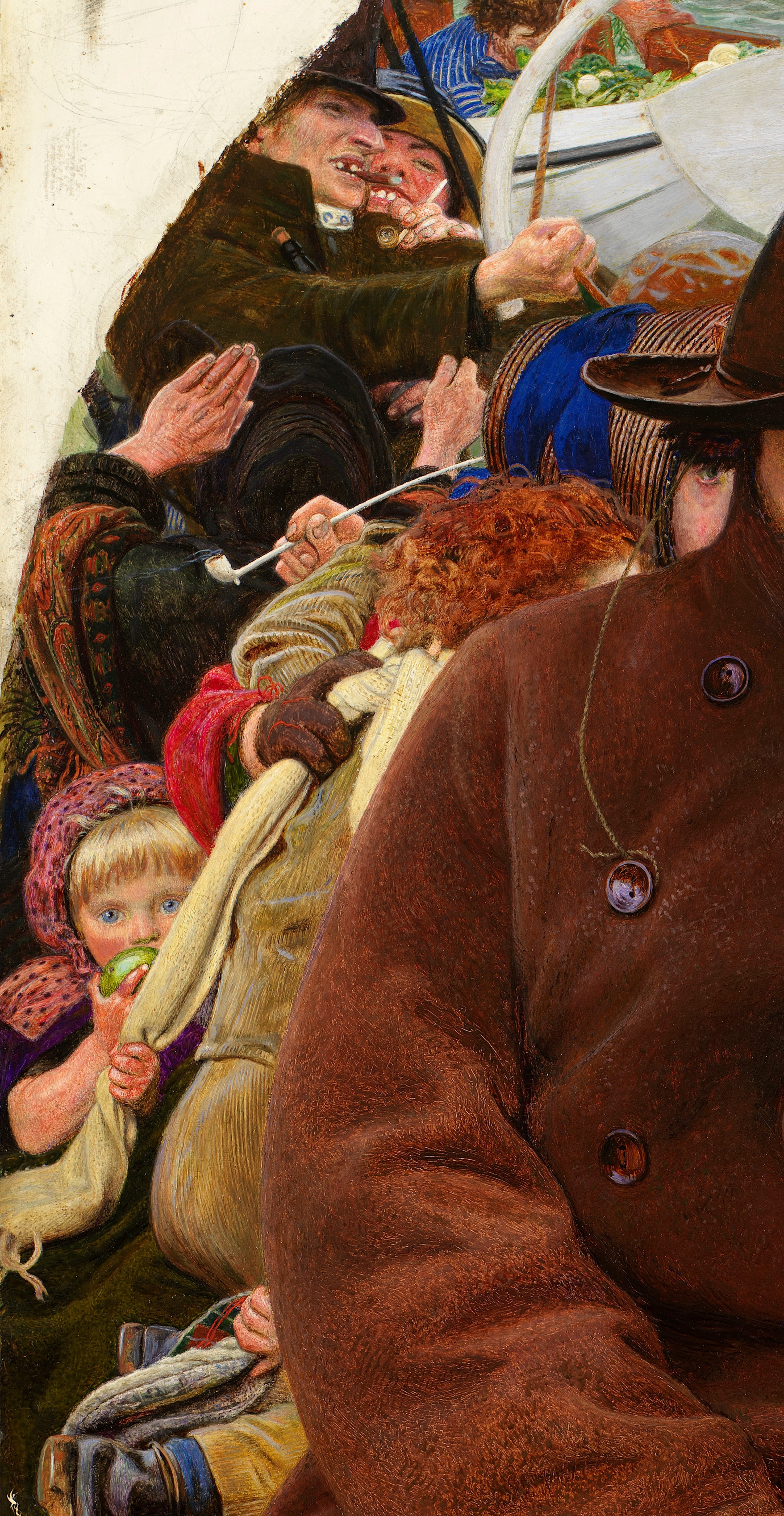 Ford Madox Brown. The last of England. Fragment III
