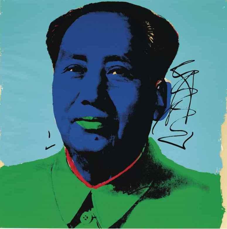 Andy Warhol. Mao